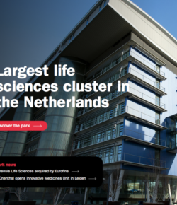 Largest life sciences cluster in the Netherlands