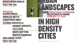 URBAN LANDSCAPES IN HIGH DENSITY CITIES